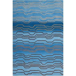 """8' x 10'6"""" Azure Rectangle Rug"""