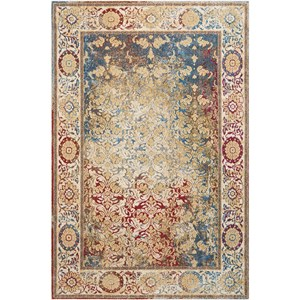 "5'3""X7'3"" Multicolor Rectangle Rug"