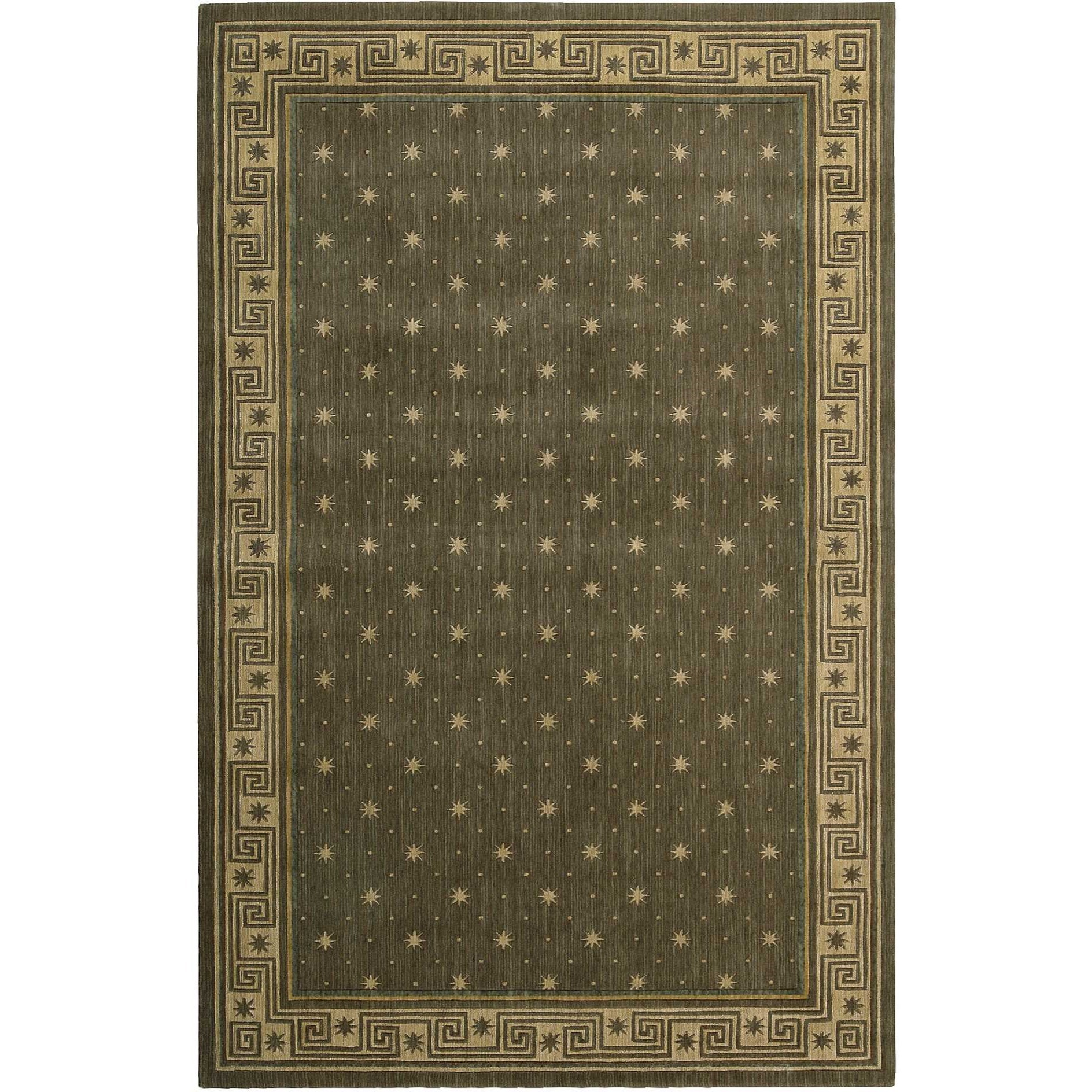 """Cosmopolitan 5'3"""" x 8'3"""" Spruce Rectangle Rug by Nourison at Home Collections Furniture"""