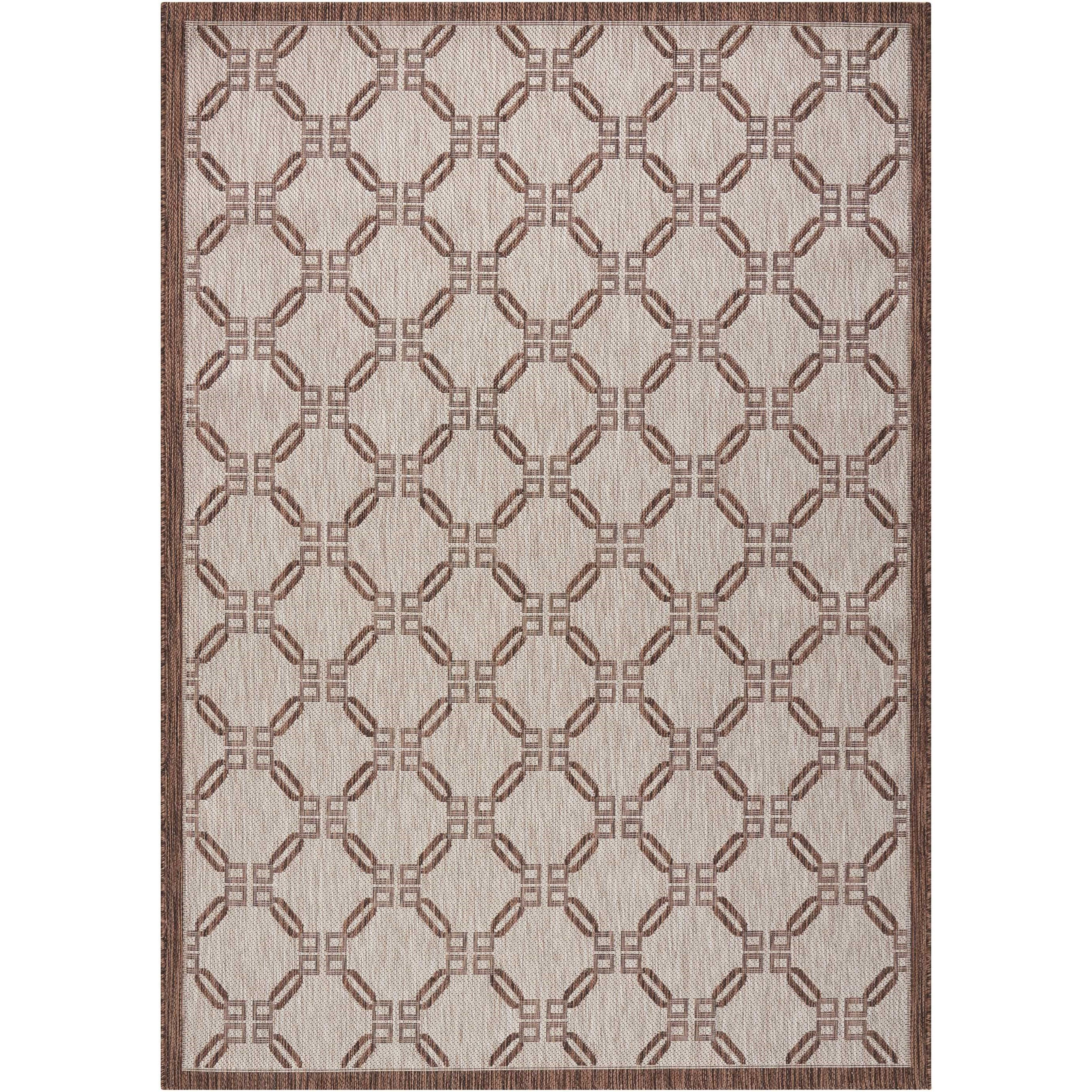 """Country Side 5'3"""" X 7'3"""" Natural              Rug by Nourison at Home Collections Furniture"""