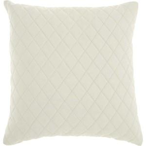 "PD031 Ivory 20"" x 20"" Throw Pillow"