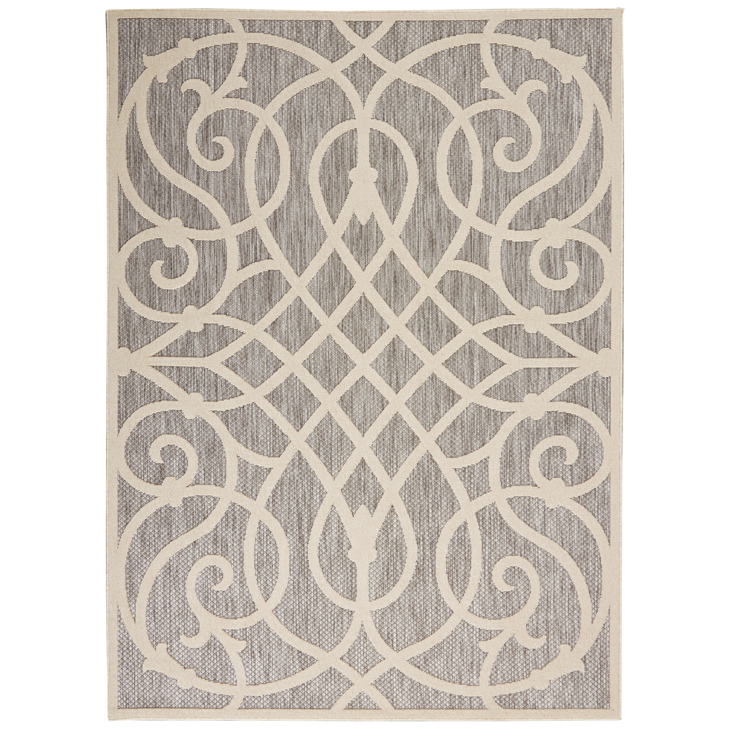 Cozumel 2020 5' x 7' Rug by Nourison at Home Collections Furniture