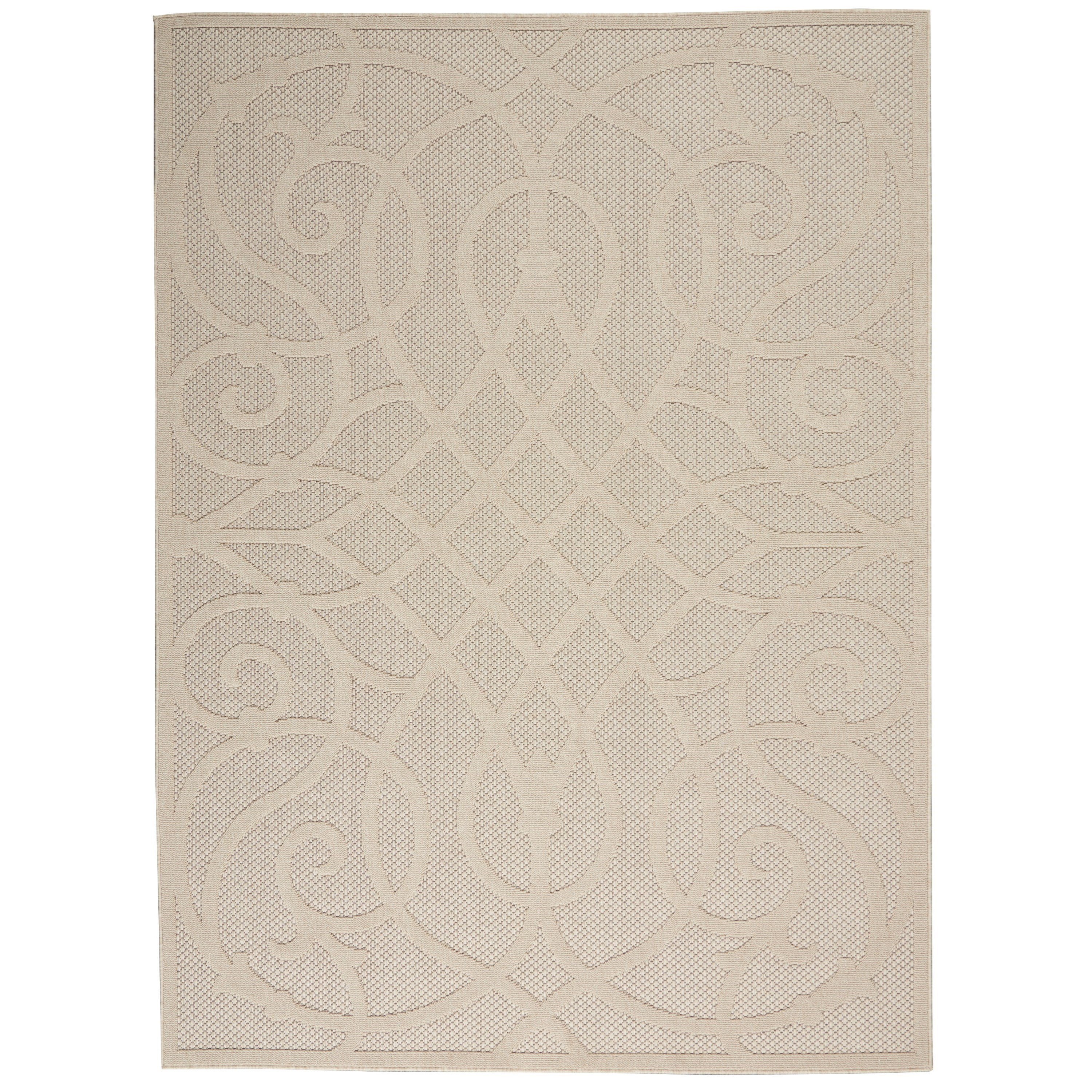 Cozumel 2020 4' x 6' Rug by Nourison at Home Collections Furniture
