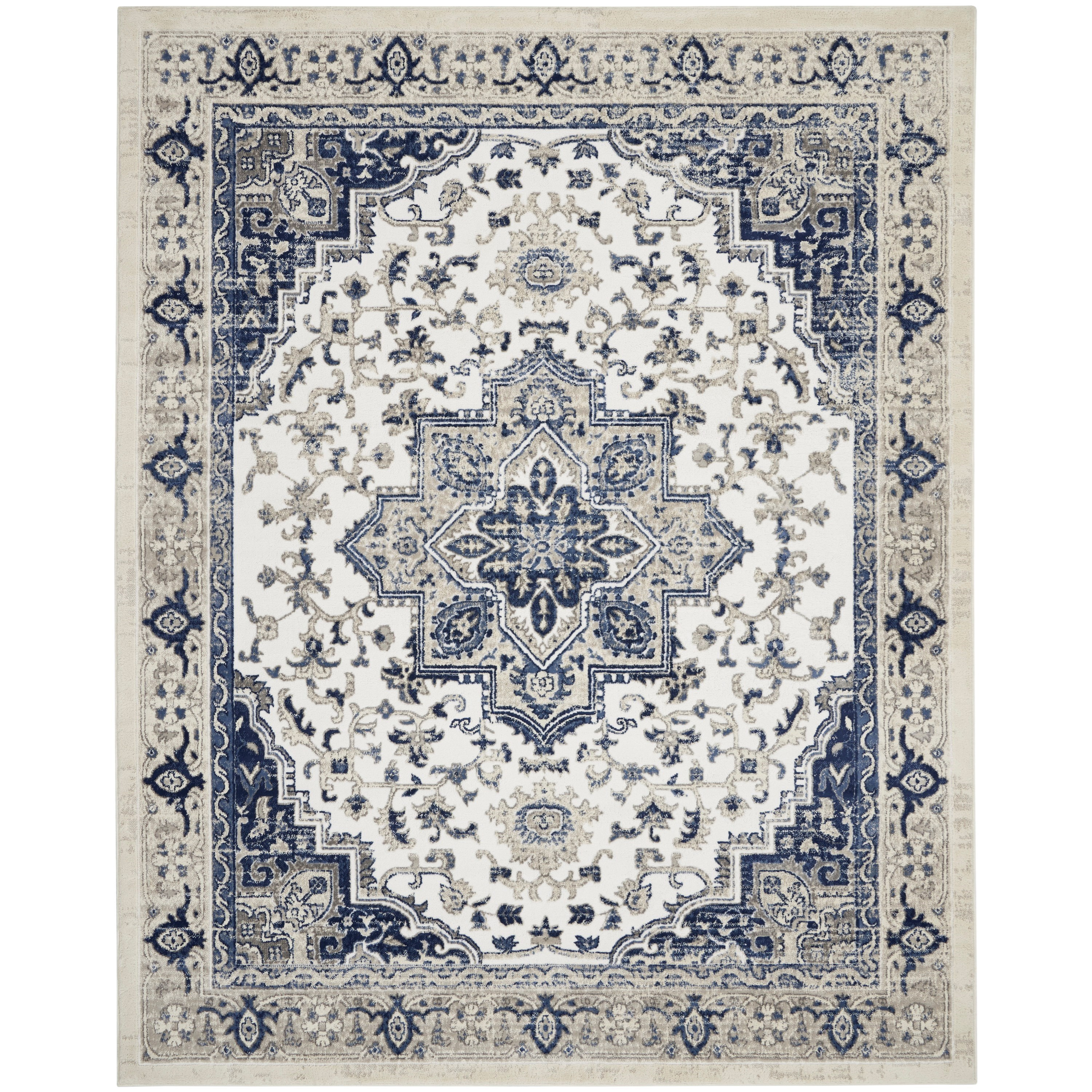 Cyrus 2020 8' x 10' Rug by Nourison at Home Collections Furniture