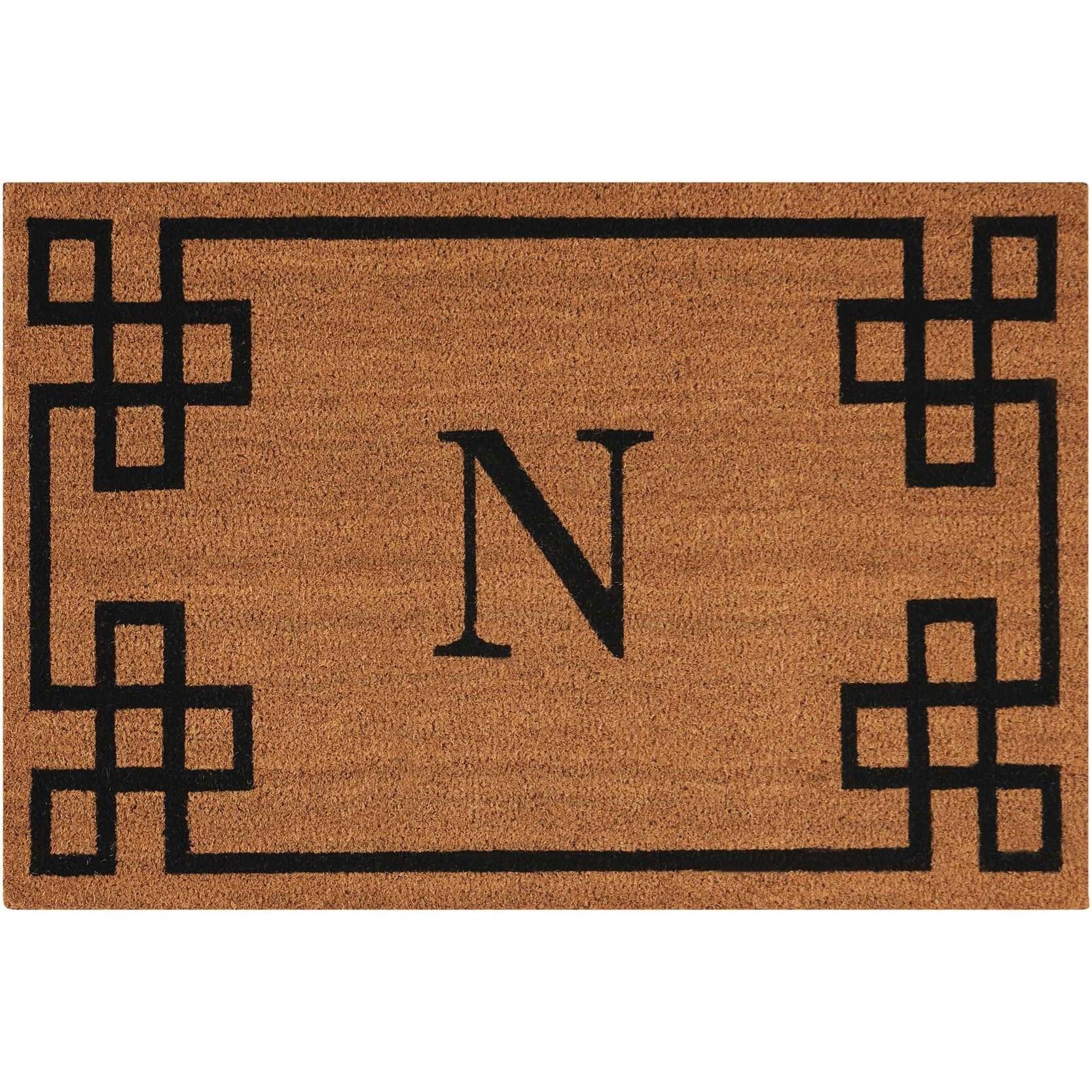 Elegant Entry 2' x 3' Natural Rectangle Rug by Nourison at Sprintz Furniture