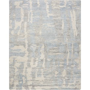 "8'6"" X 11'6"" Blue Rectangle Rug"