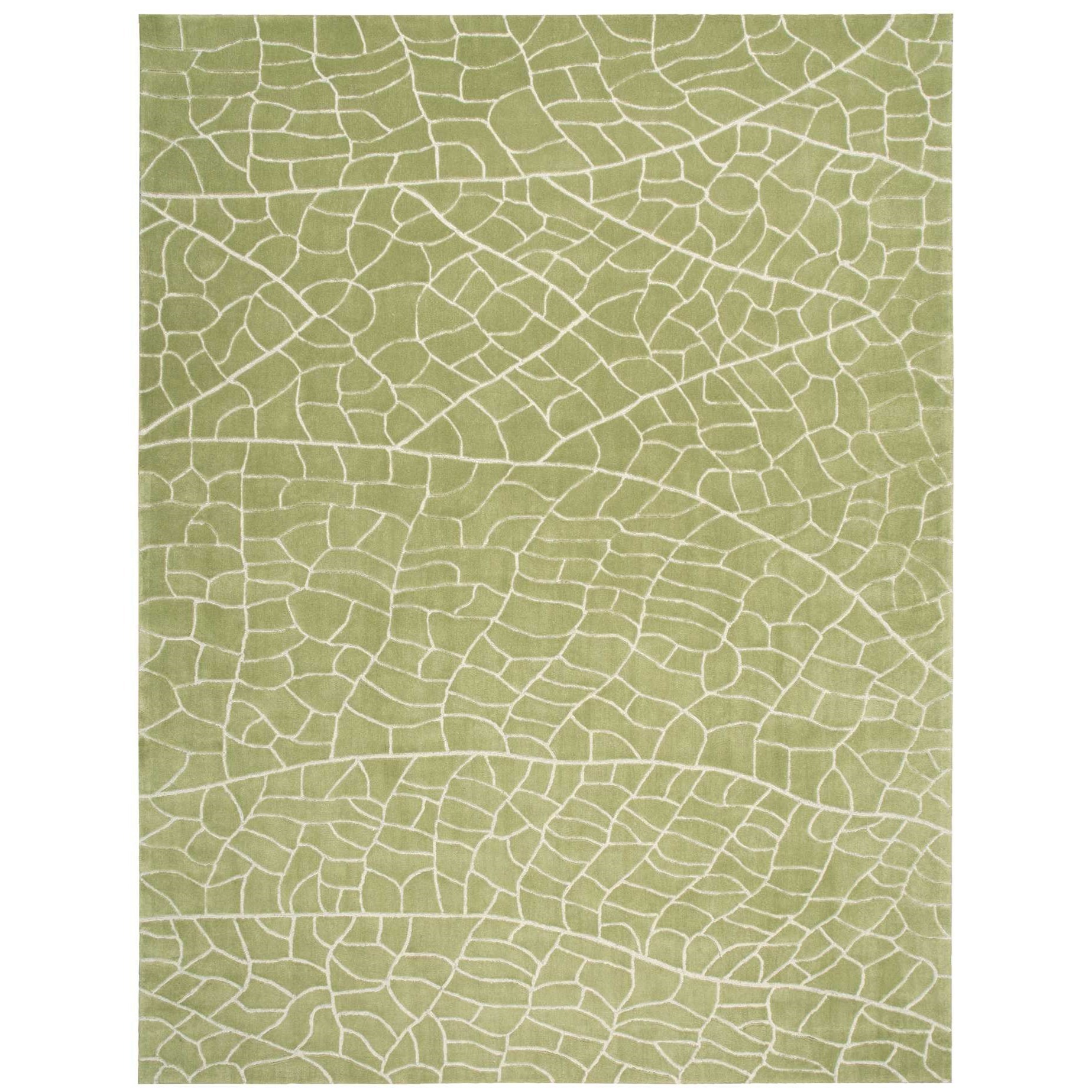 """Escalade 3'9"""" x 5'9"""" Kiwi Rectangle Rug by Nourison at Home Collections Furniture"""