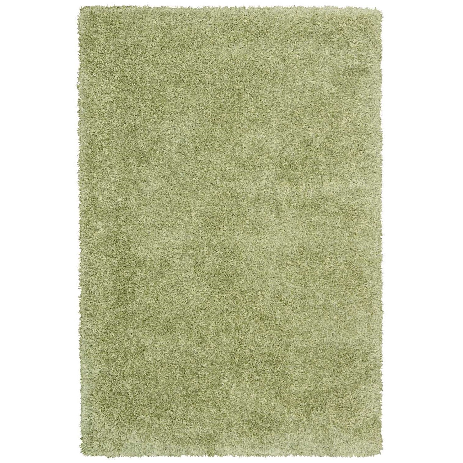 "Escape 5'3"" x 7'3"" Green Rectangle Rug by Nourison at Home Collections Furniture"