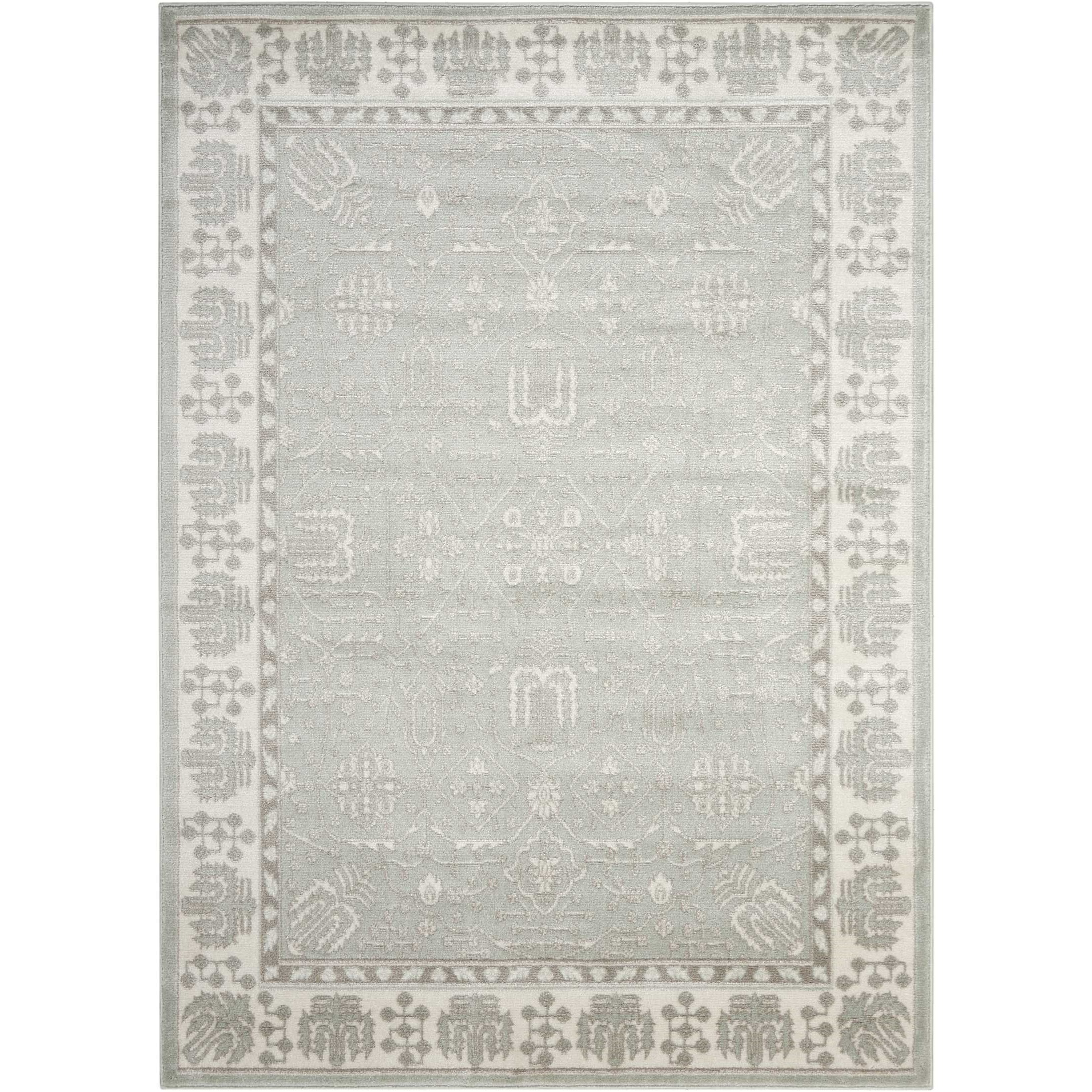 """Euphoria 5'3"""" X 7'3"""" Spa Rug by Nourison at Home Collections Furniture"""