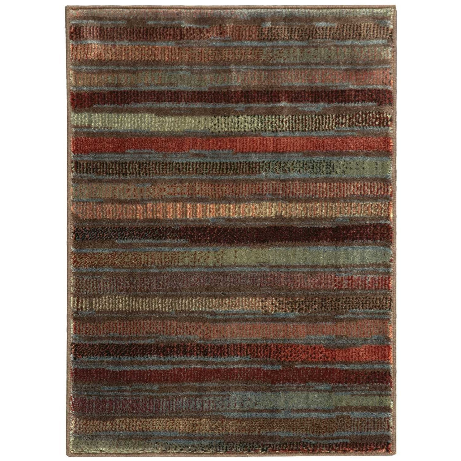 "Expressions 2' x 2'9"" Multicolor Rectangle Rug by Nourison at Home Collections Furniture"