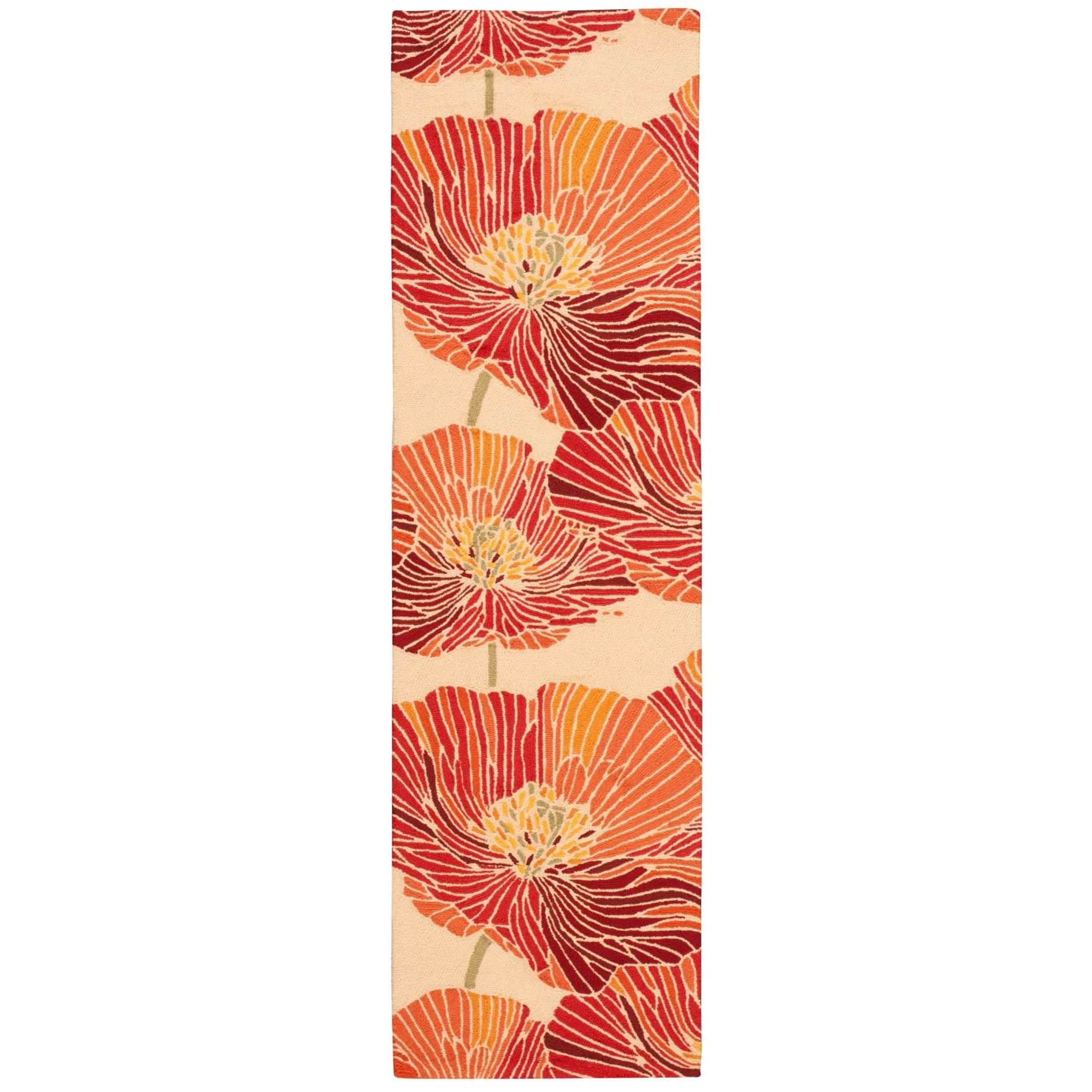 """Fantasy 2'3"""" x 8' Sunset Runner Rug by Nourison at Home Collections Furniture"""