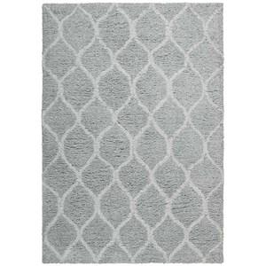 5' x 7' Light Grey Rectangle Rug