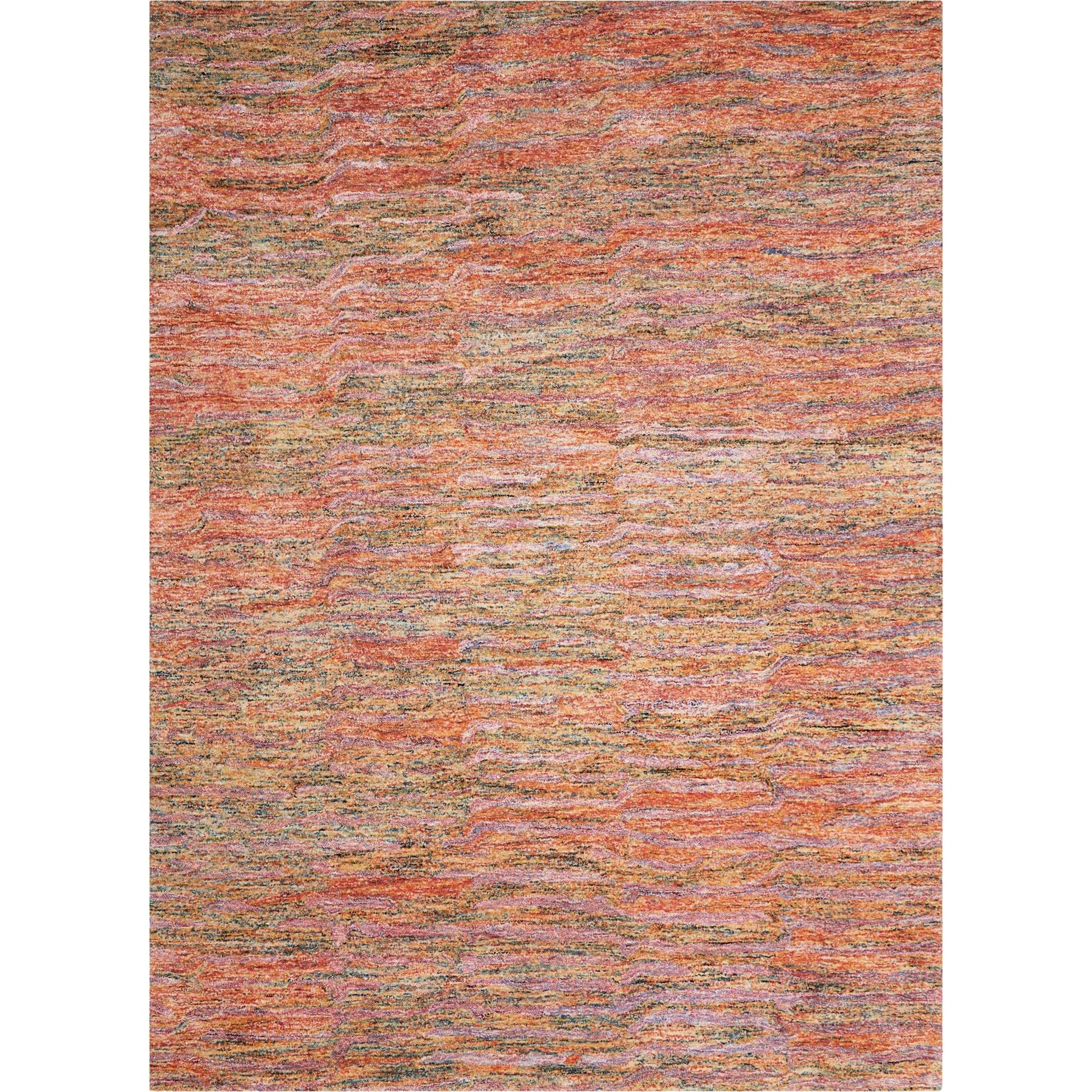 """Gemstone1 3'9"""" X 5'9"""" Fire Opal Rug by Nourison at Home Collections Furniture"""