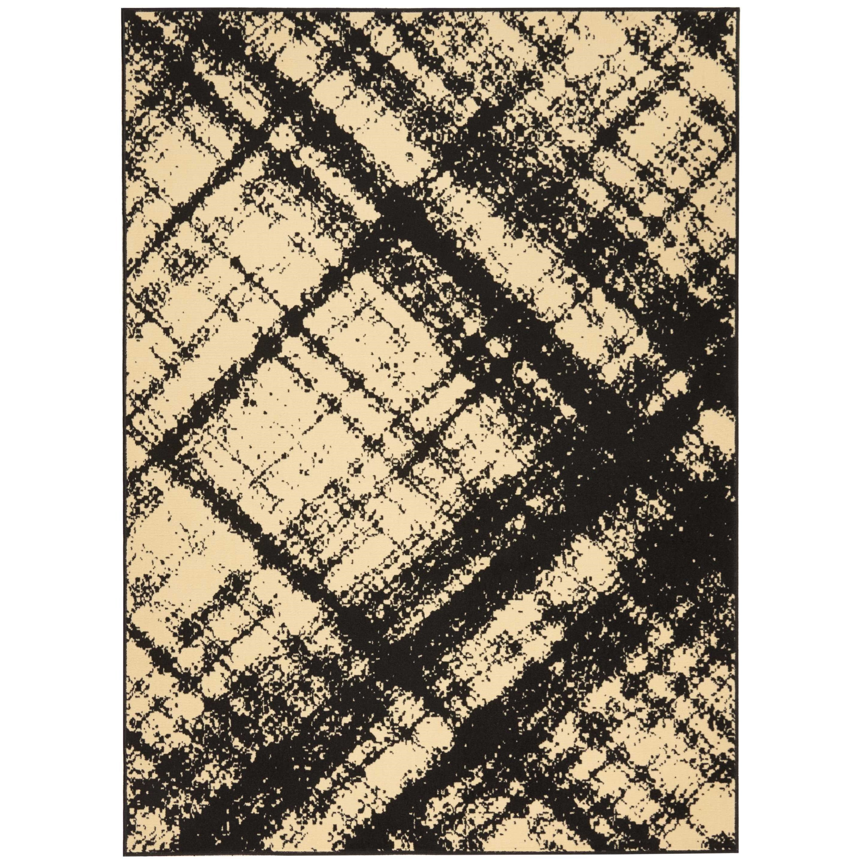 "Grafix 7'10""X9'10""  Rug by Nourison at Home Collections Furniture"