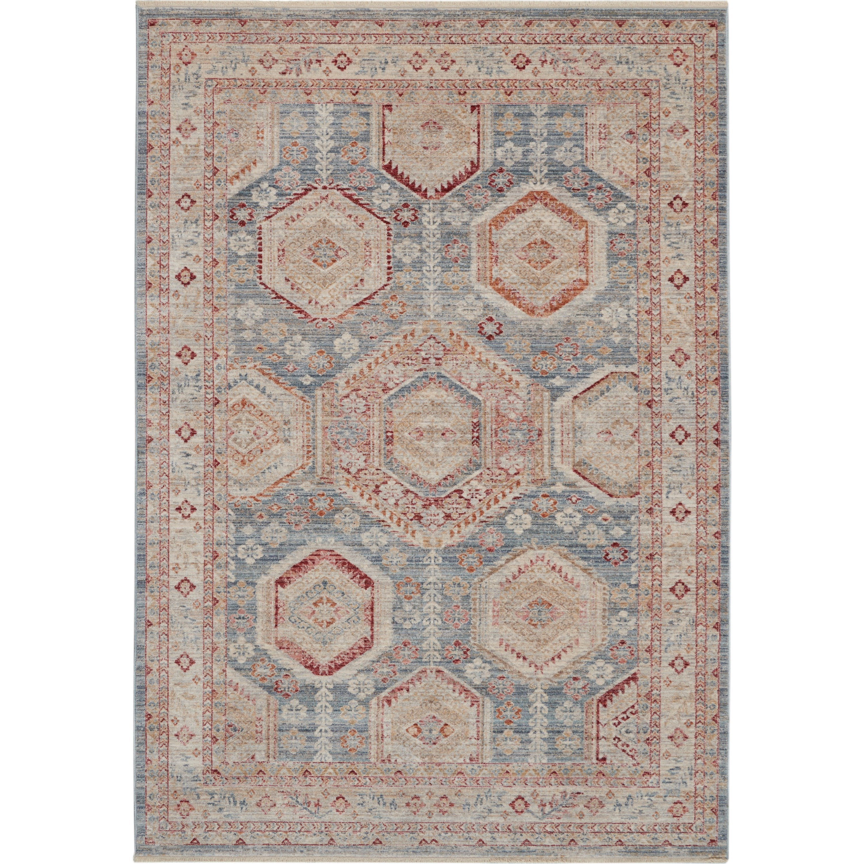 Homestead 2020 5' x 8' Rug by Nourison at Home Collections Furniture