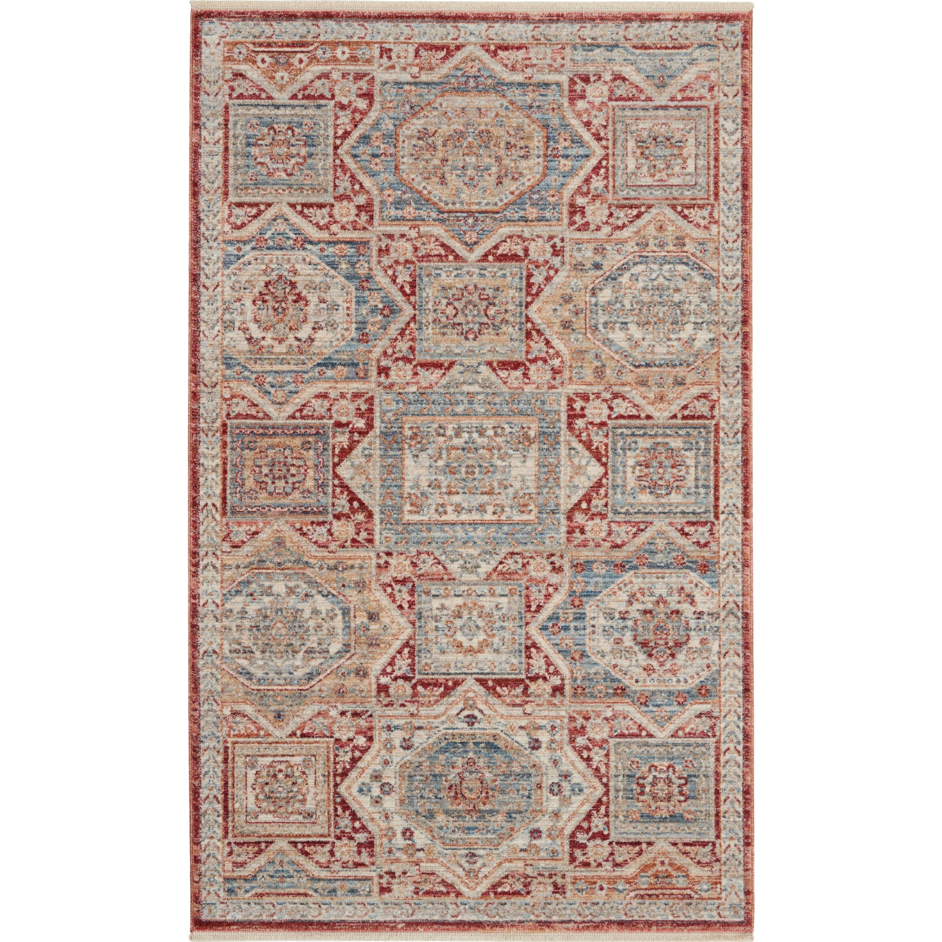 Homestead 2020 3' x 5' Rug by Nourison at Home Collections Furniture