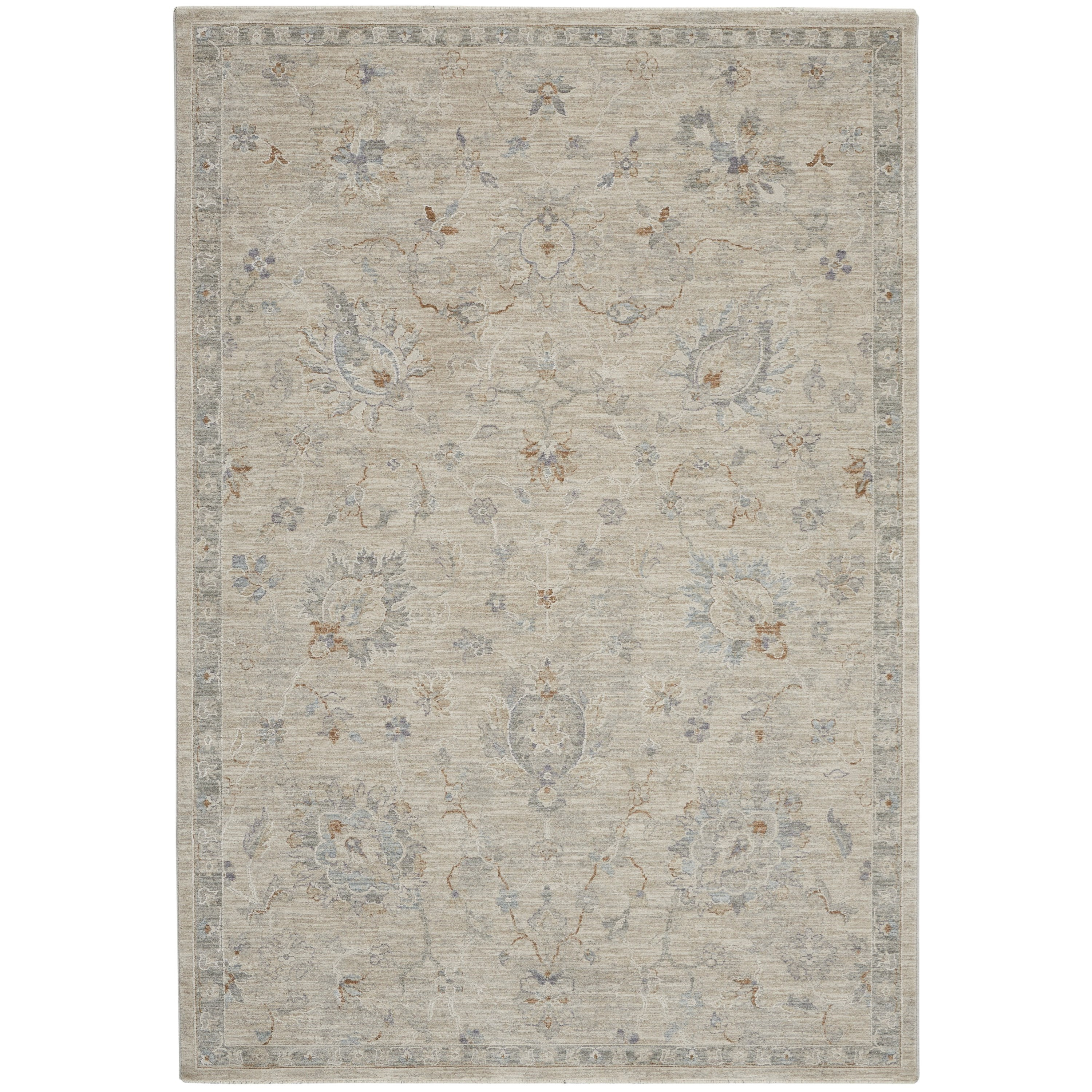 Infinite 2020 4' x 6' Rug by Nourison at Home Collections Furniture