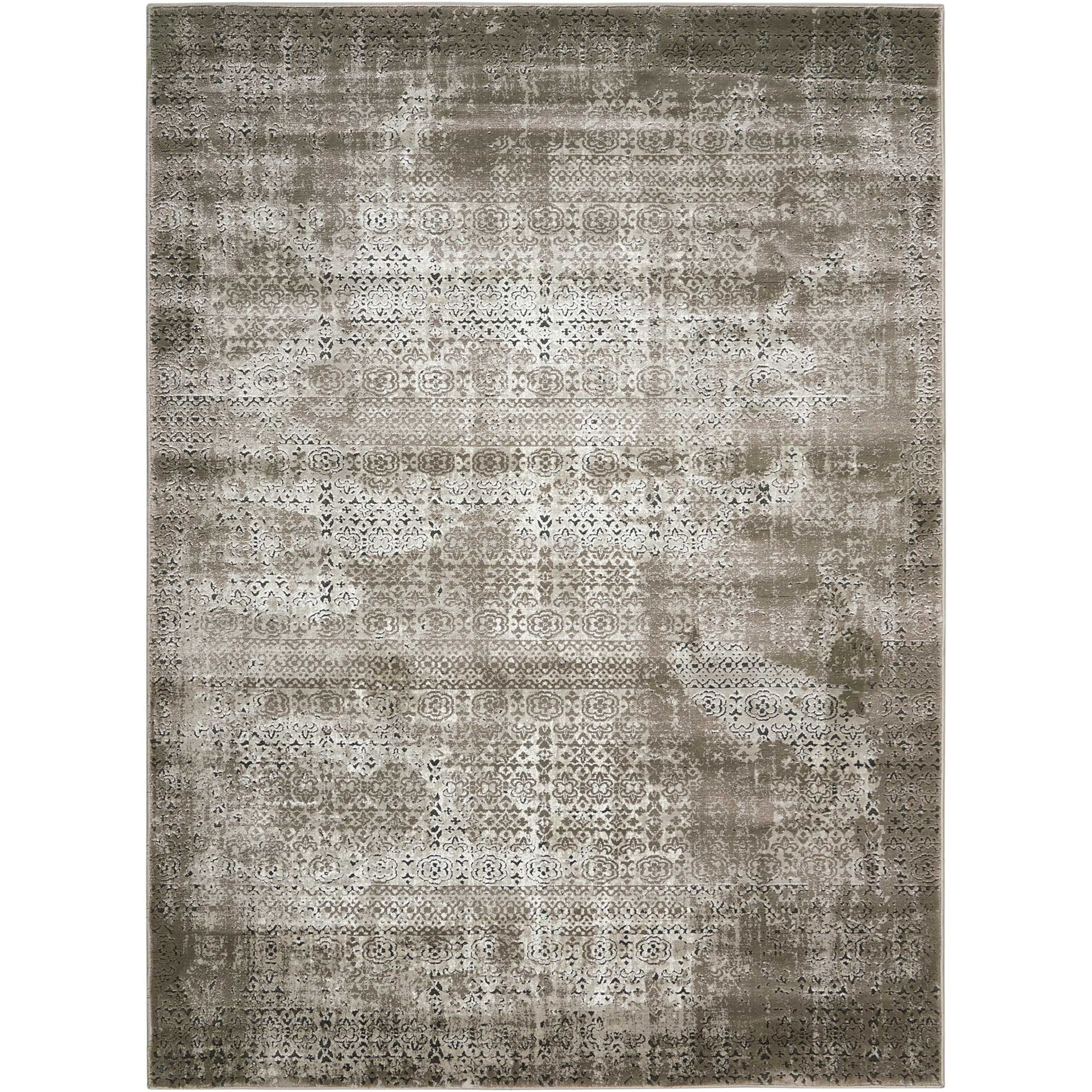 "Karma 5'3"" X 7'4"" Ash Rug by Nourison at Sprintz Furniture"