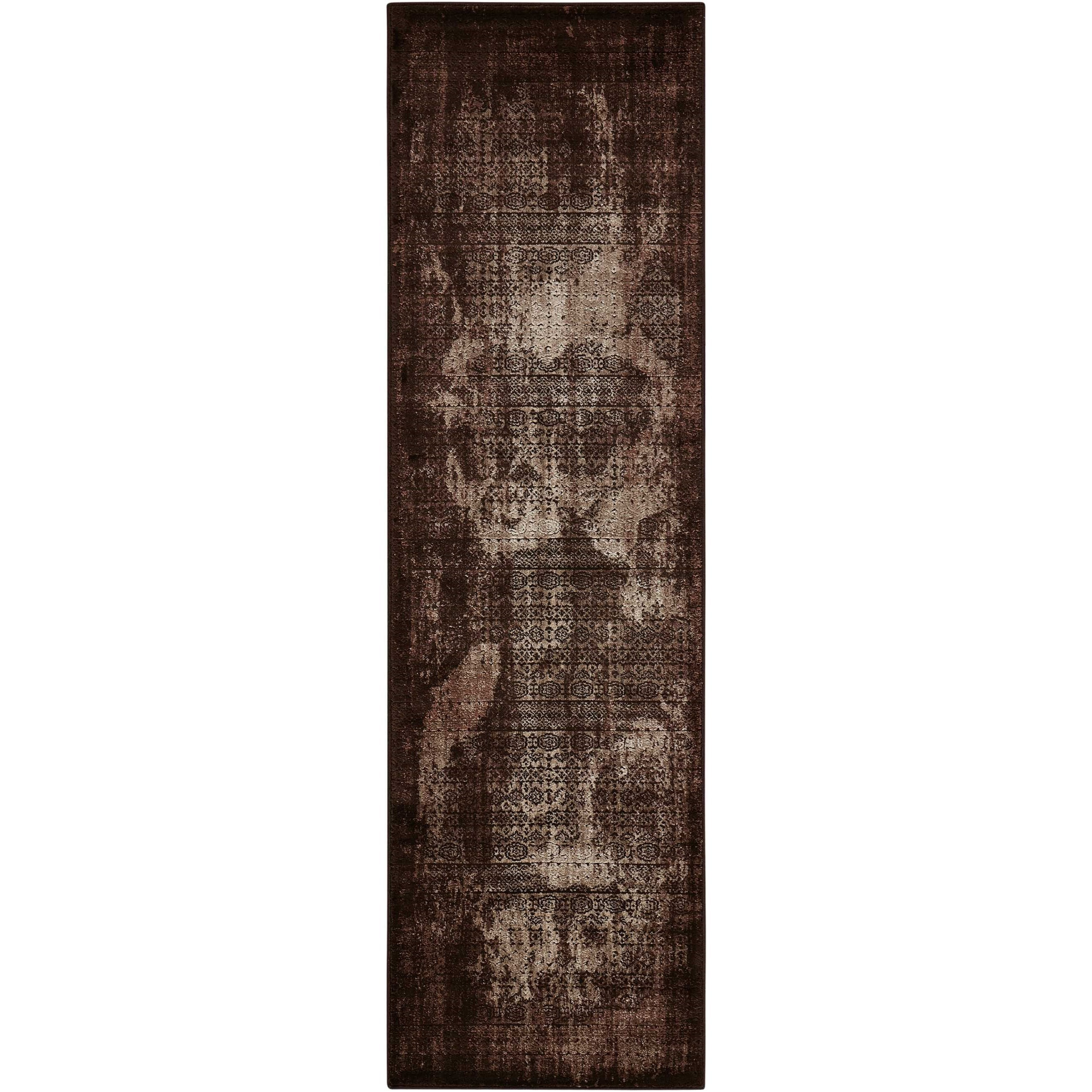 """Karma 2'2"""" X 7'6"""" Latte Rug by Nourison at Home Collections Furniture"""