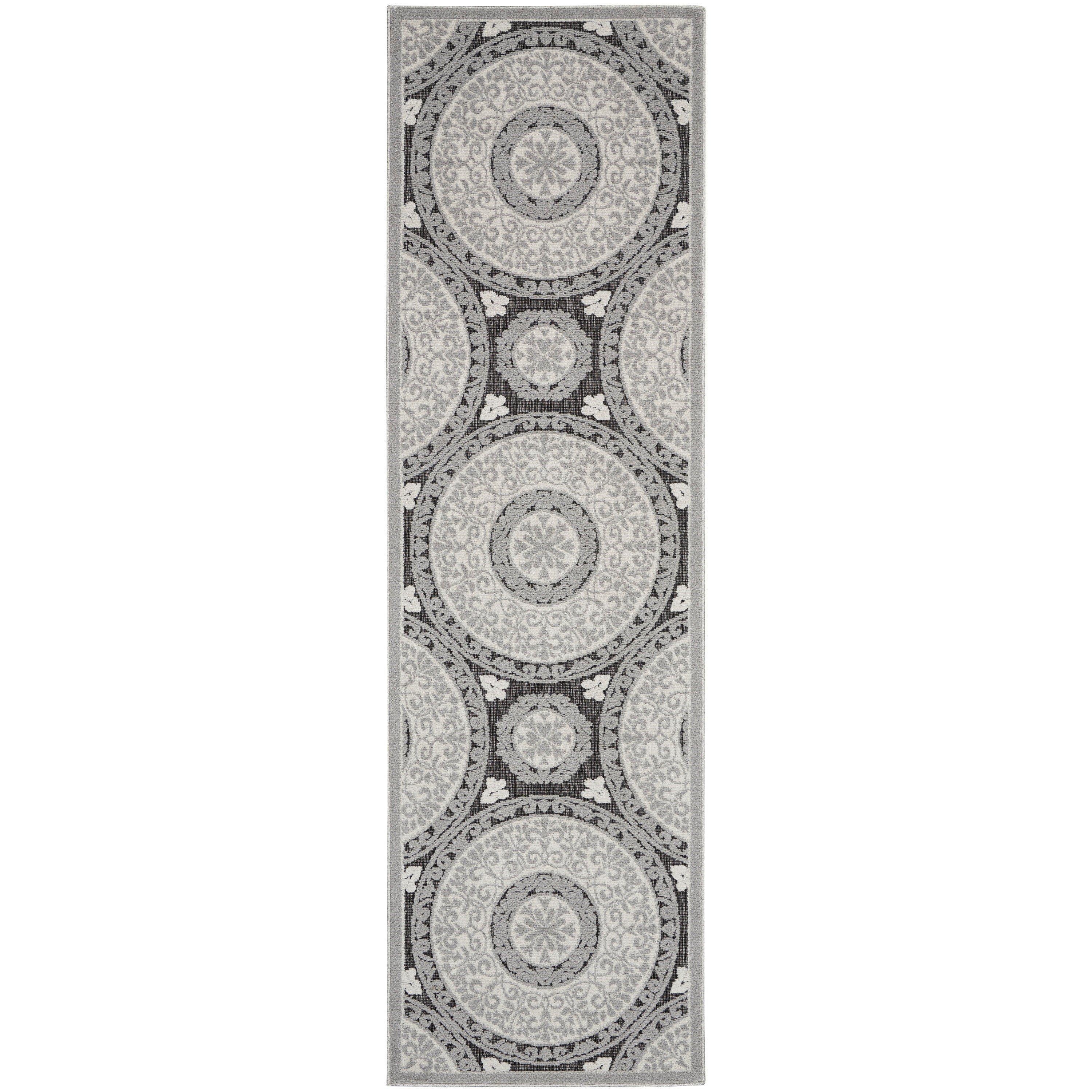Key Largo 2020 10' Runner Rug by Nourison at Home Collections Furniture
