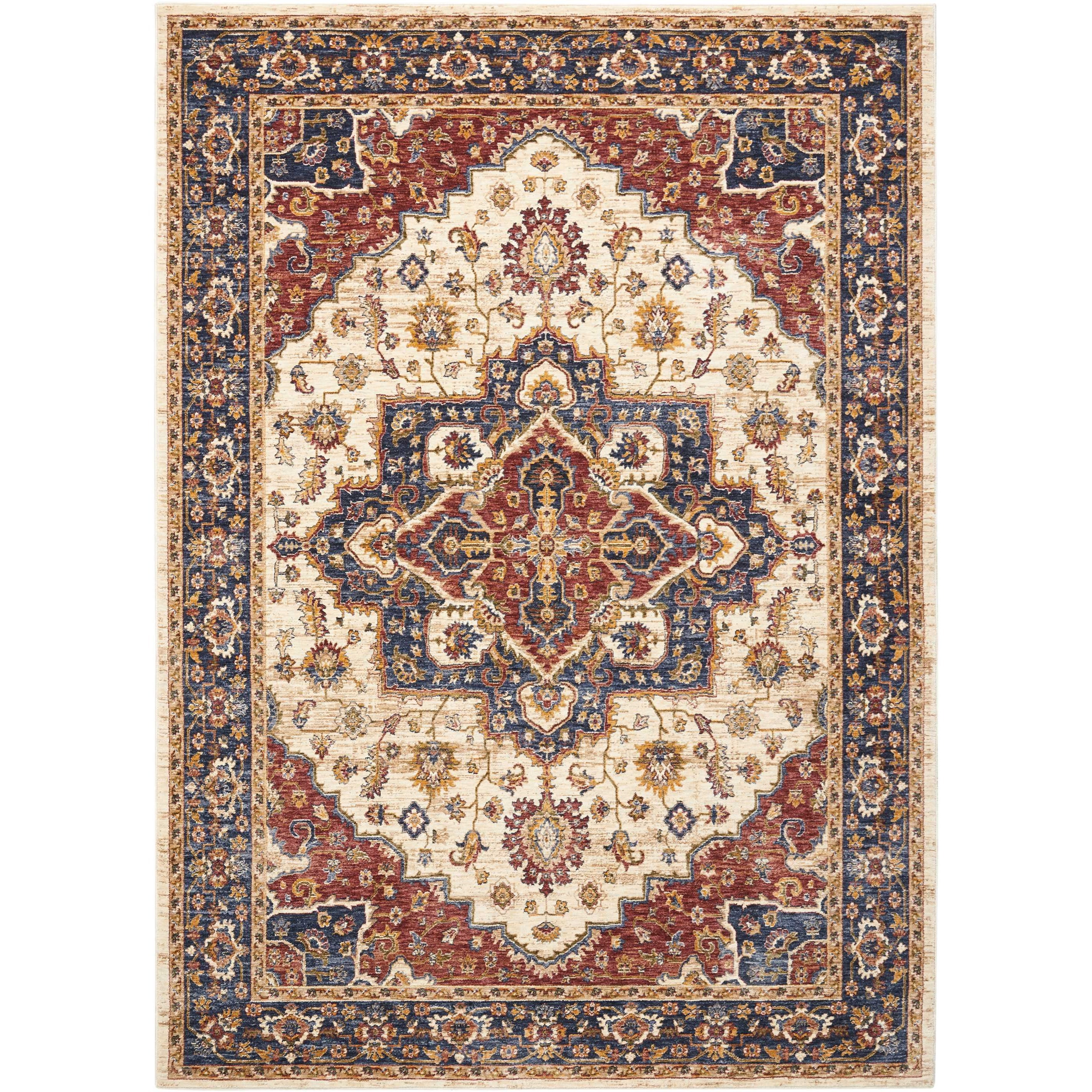 """Lagos 9'10""""X13'2"""" Rug by Nourison at Home Collections Furniture"""