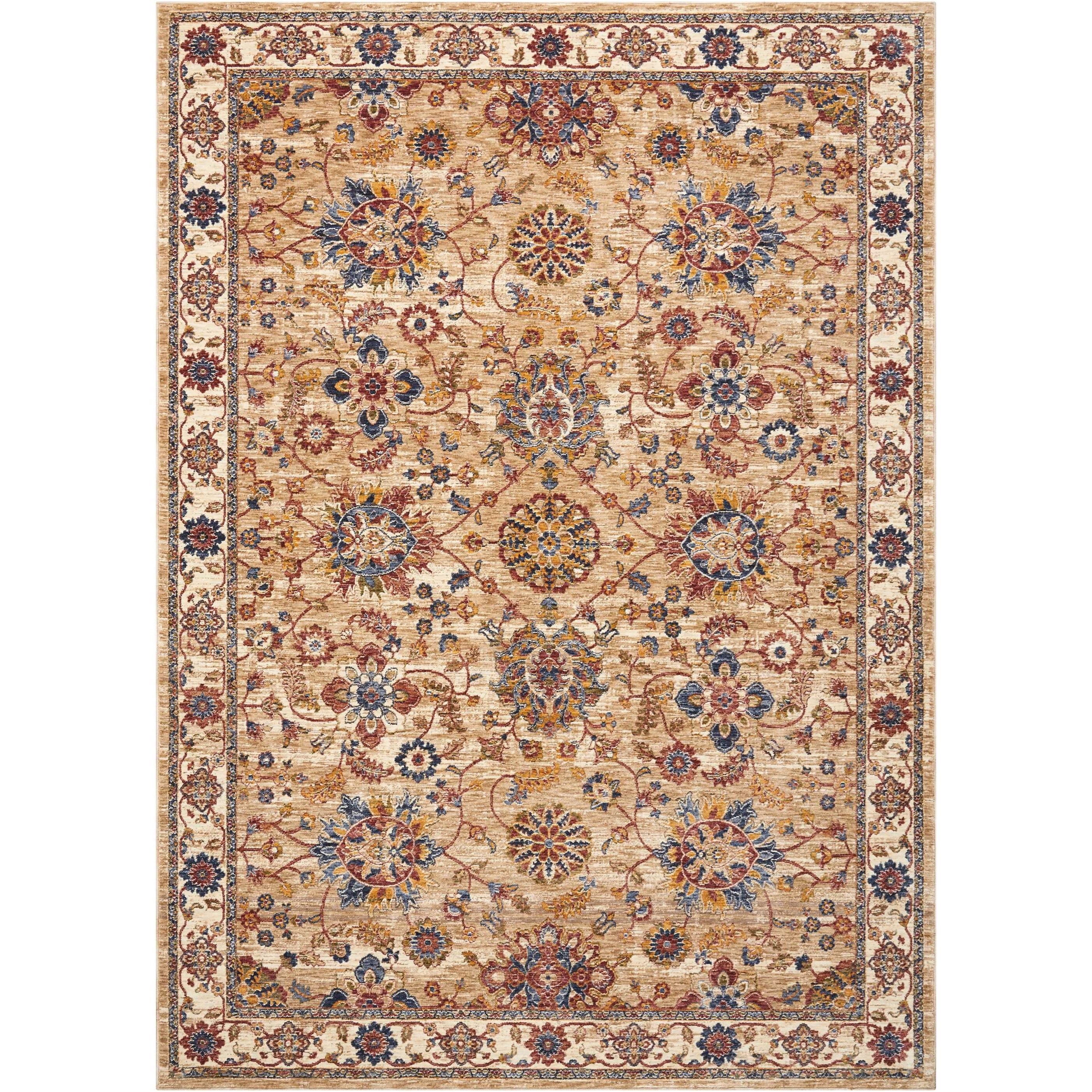 """Lagos 7'10""""X9'10""""  Rug by Nourison at Home Collections Furniture"""
