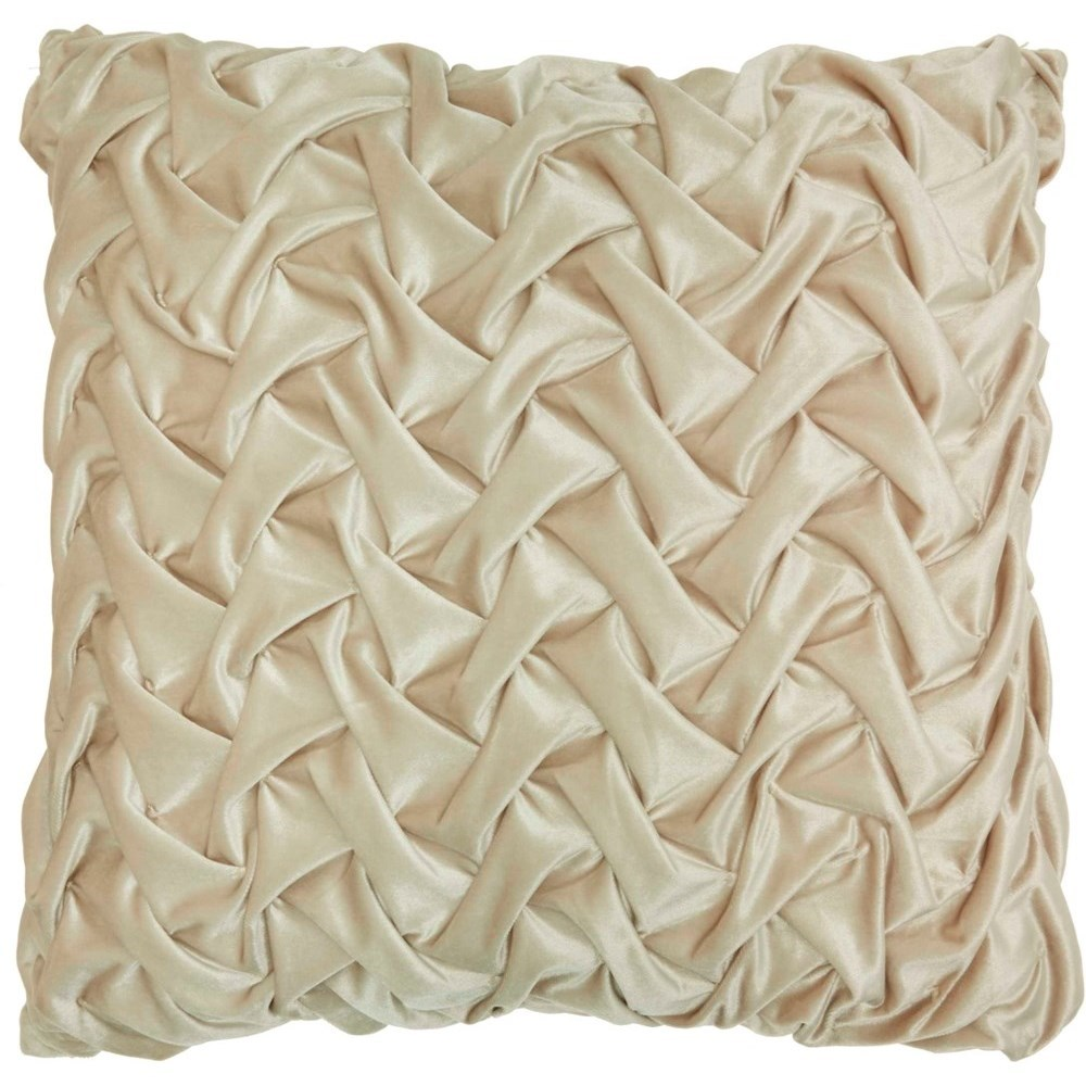 """Life Styles L0064 Beige 22"""" x 22"""" Throw Pillow by Nourison at Miller Waldrop Furniture and Decor"""
