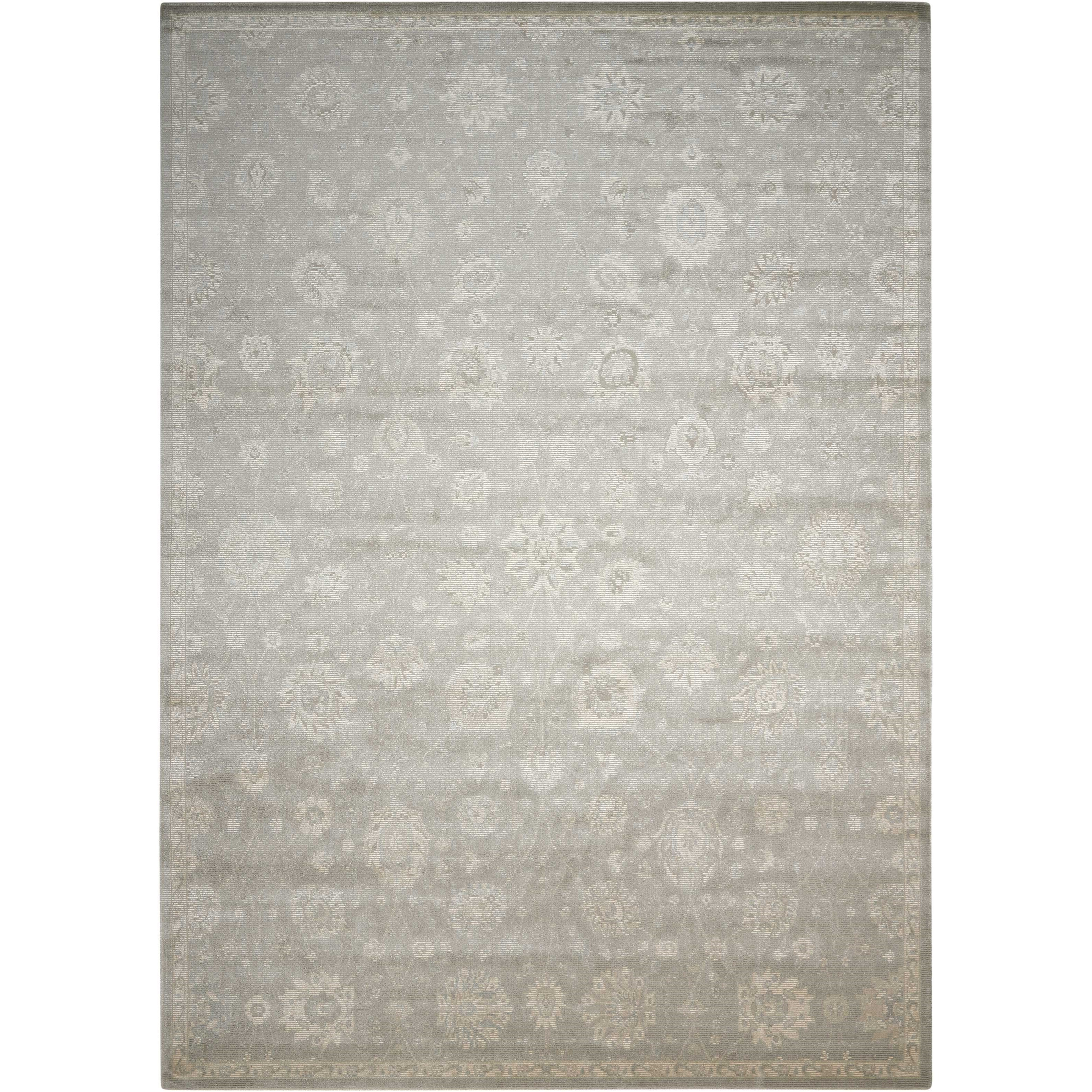 """Luminance 7'6"""" x 10'6"""" Ironstone Rectangle Rug by Nourison at Home Collections Furniture"""