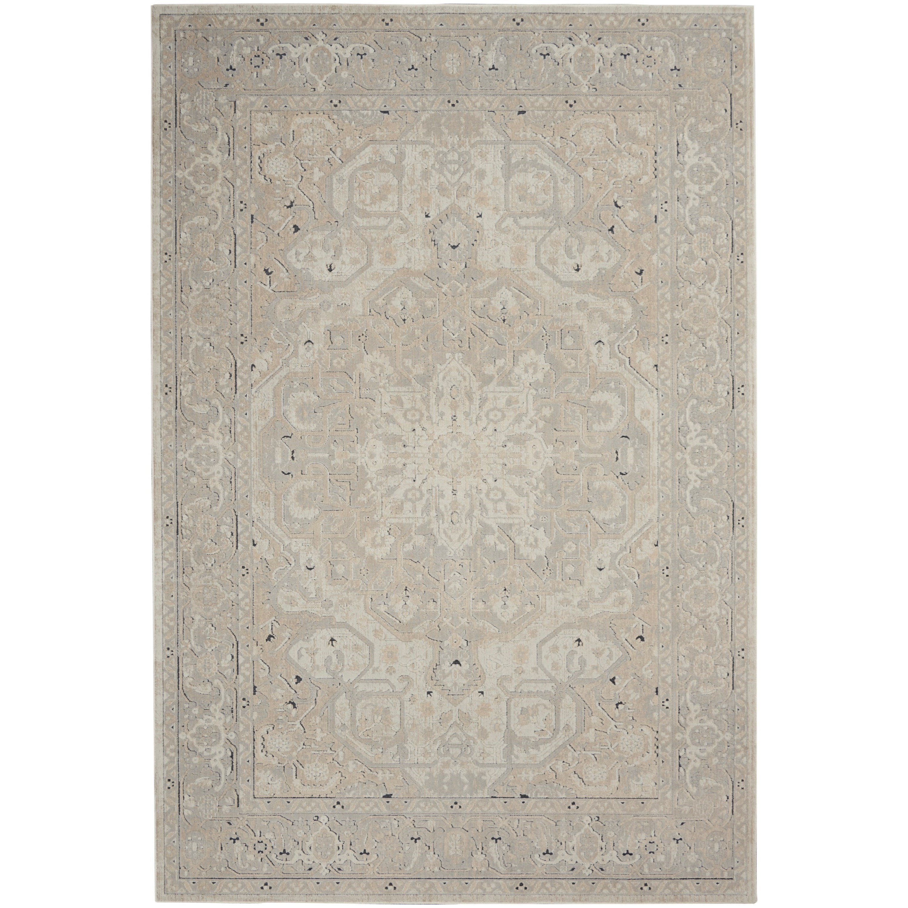 Malta 2020 4' x 6' Rug by Nourison at Home Collections Furniture