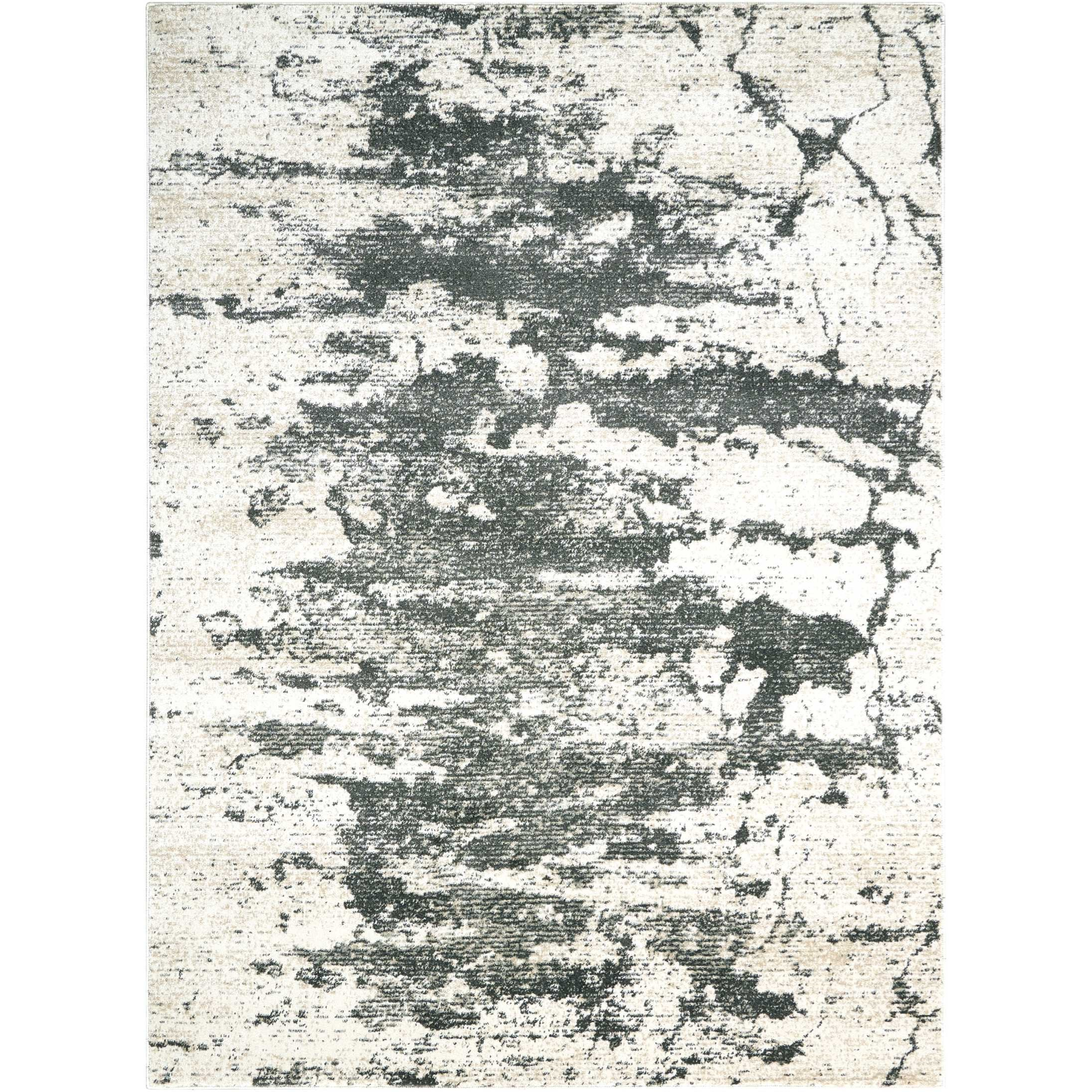 """Maxell 7'10"""" X 10'6"""" Iv/Grey Rug by Nourison at Darvin Furniture"""