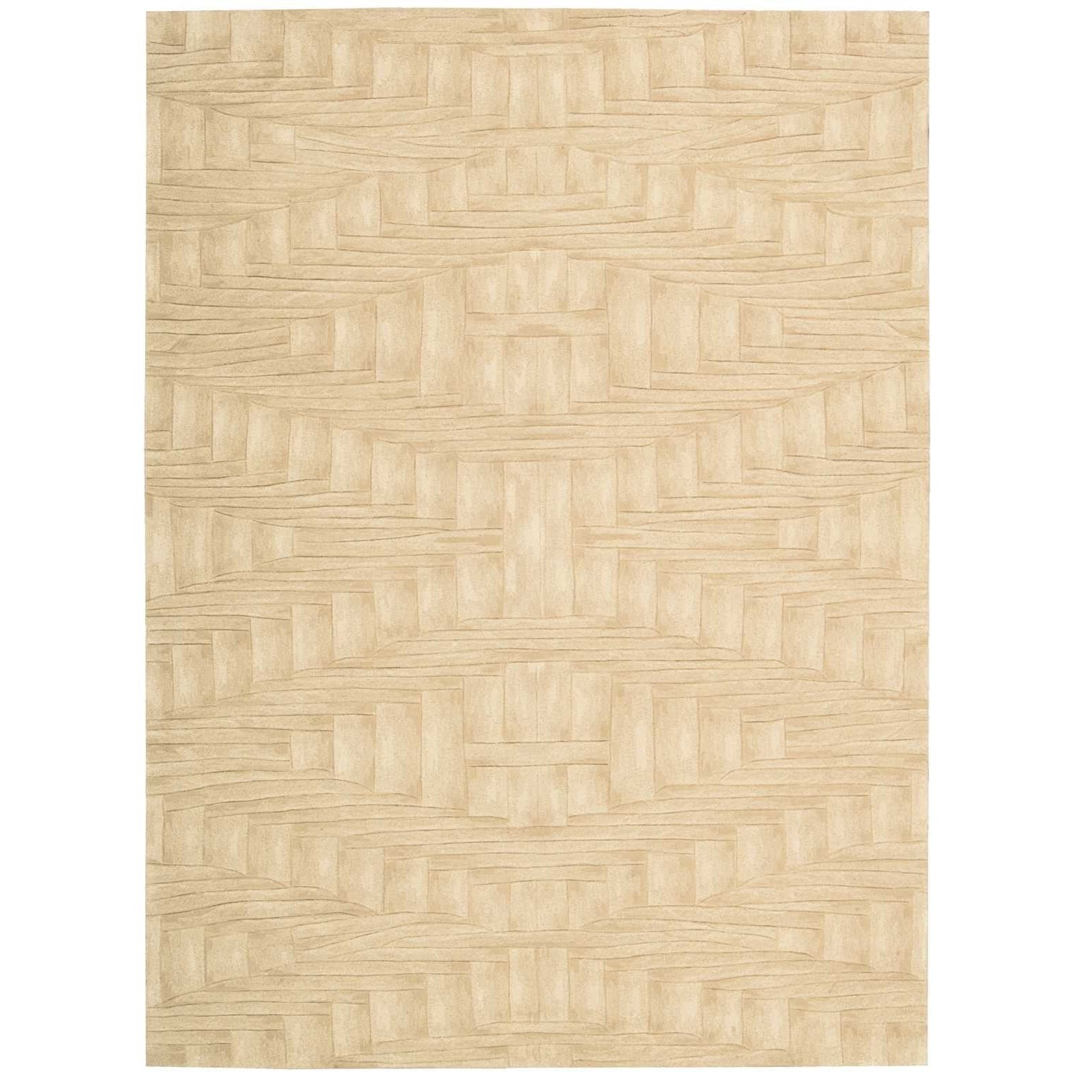 """Moda 3'6"""" x 5'6"""" Shell Rectangle Rug by Nourison at Home Collections Furniture"""