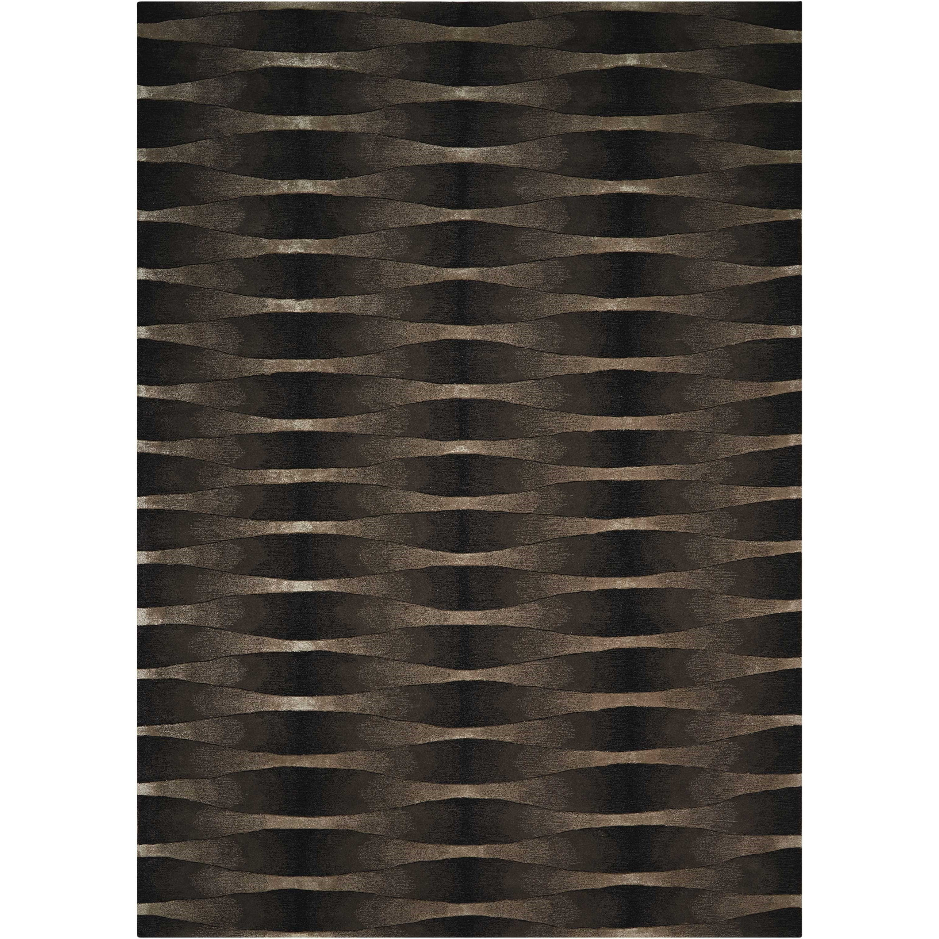 """Moda 7'6"""" x 9'6"""" Onyx Rectangle Rug by Nourison at Home Collections Furniture"""