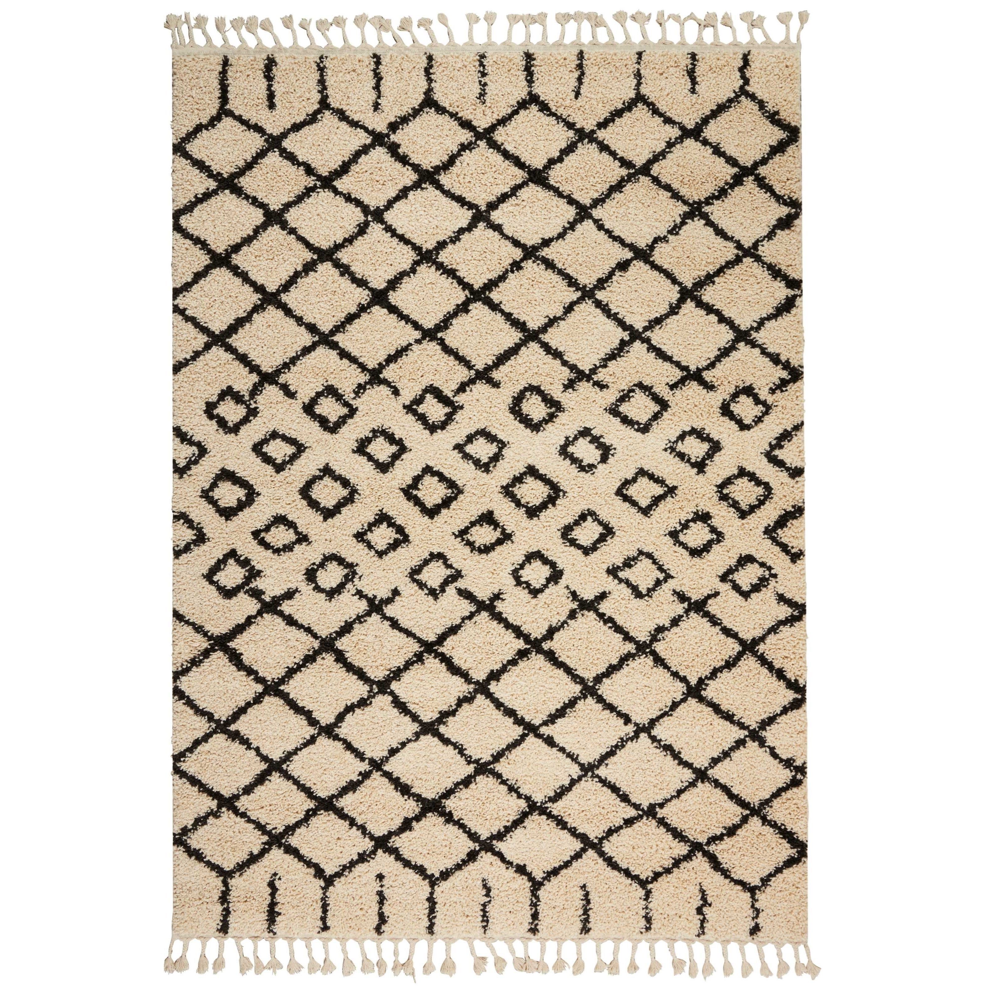 """Moroccan Shag 2'2""""X4'  Rug by Nourison at Home Collections Furniture"""