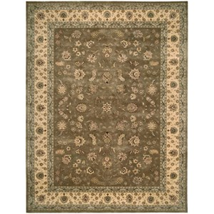 12' x 15' Olive Rectangle Rug