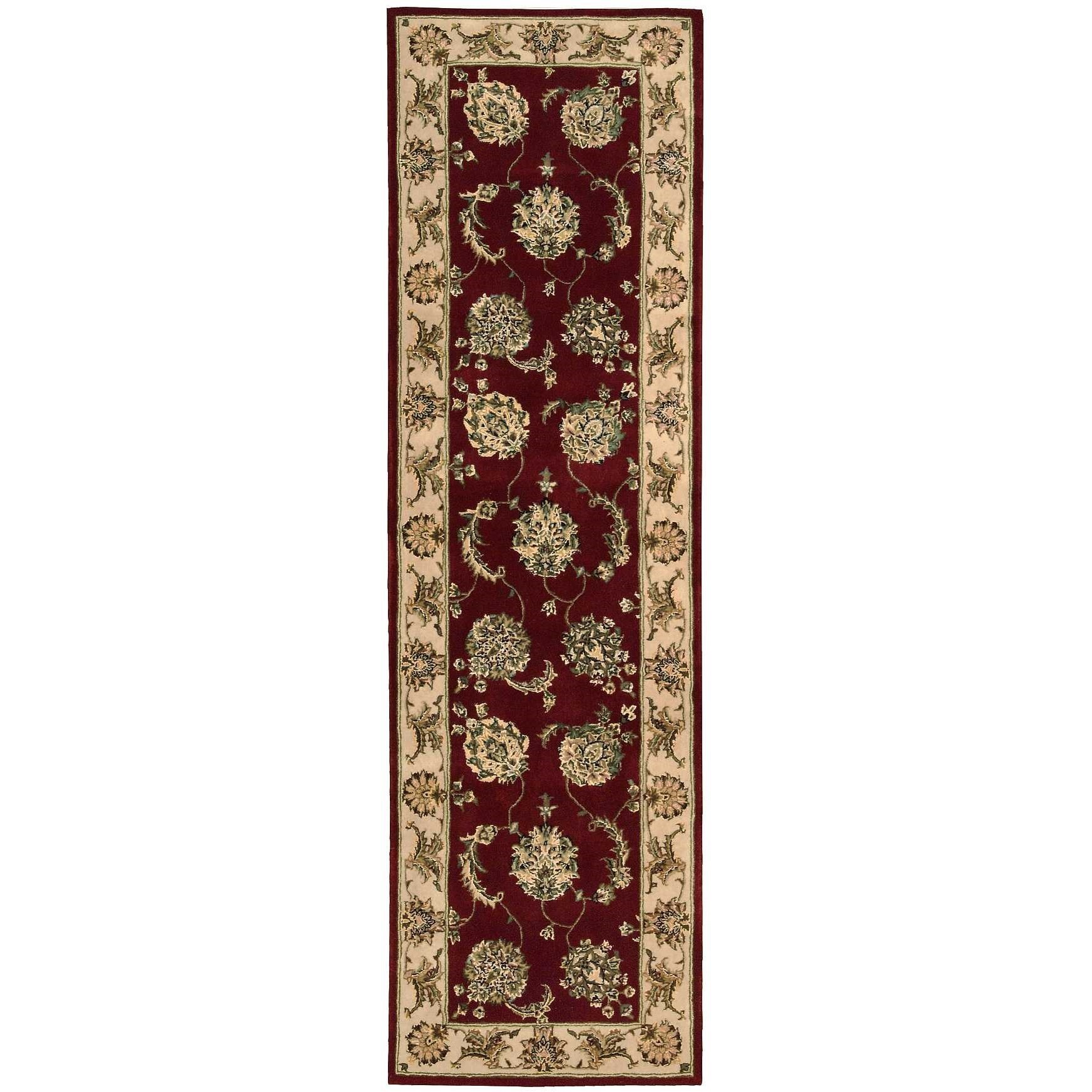"""Nourison 2000 2'3"""" x 8' Lacquer Runner Rug by Nourison at Home Collections Furniture"""