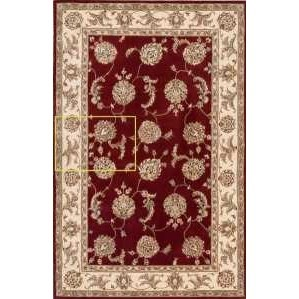 """Nourison 2000 5'6"""" x 8'6"""" Lacquer Rectangle Rug by Nourison at Home Collections Furniture"""