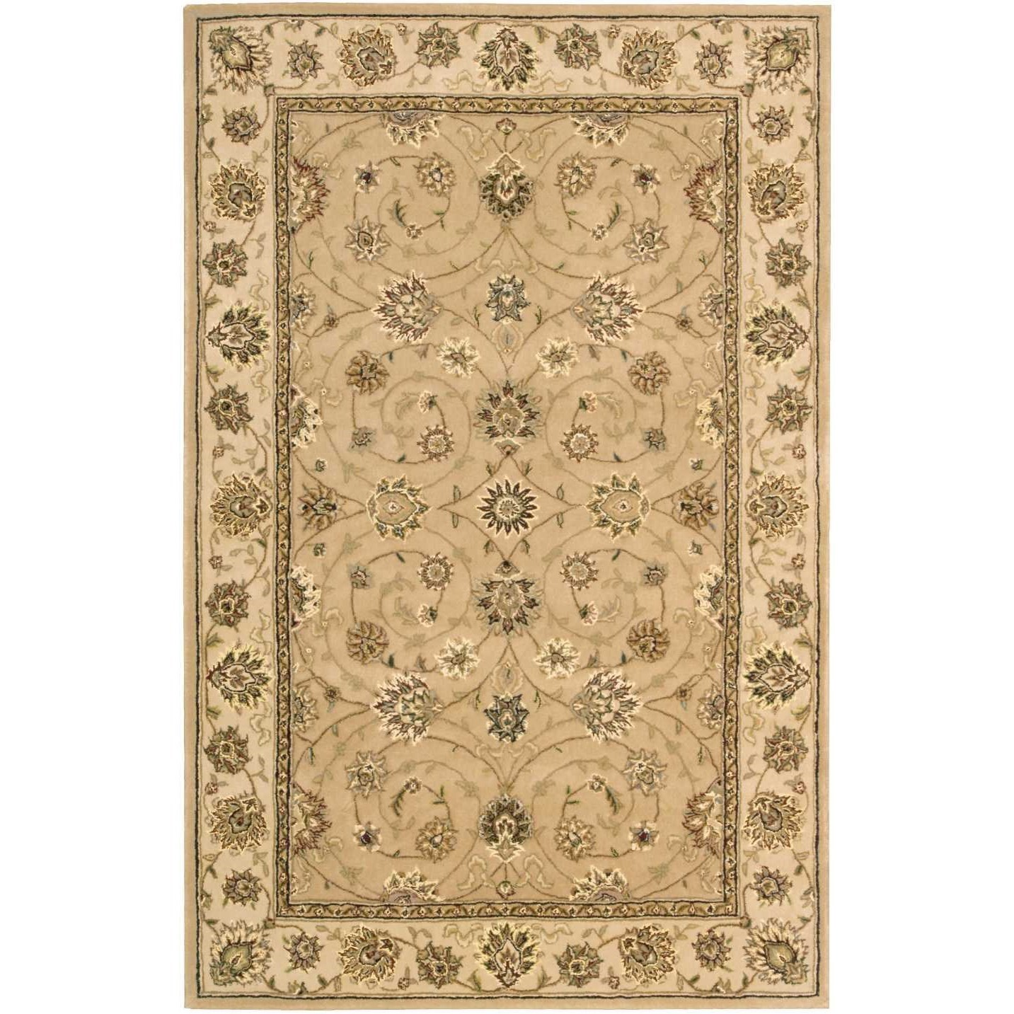 """Nourison 2000 3'9"""" x 5'9"""" Camel Rectangle Rug by Nourison at Home Collections Furniture"""