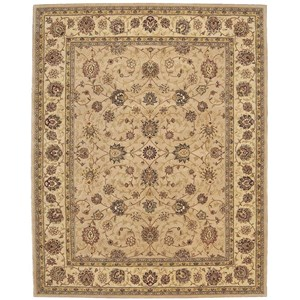 "7'9"" x 9'9"" Camel Rectangle Rug"