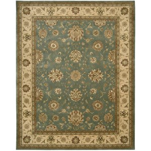 "9'9"" x 13'9"" Blue Rectangle Rug"