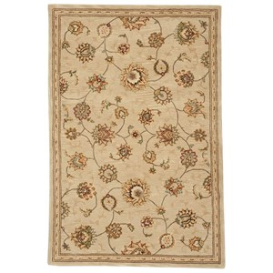 "3'9"" x 5'9"" Beige Rectangle Rug"