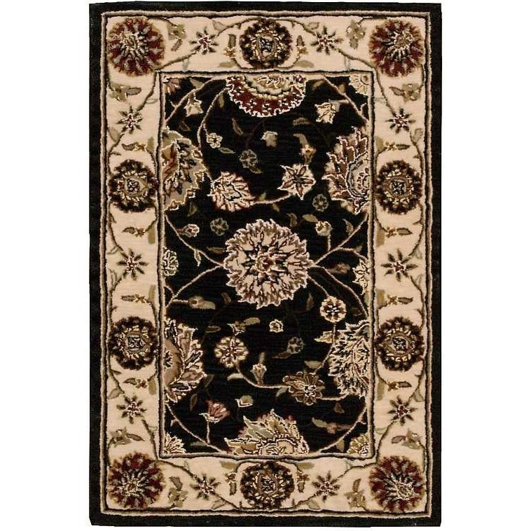Nourison 2000 2000 2204 Navy Blue 2'x3'  Area Rug by Nourison at Home Collections Furniture