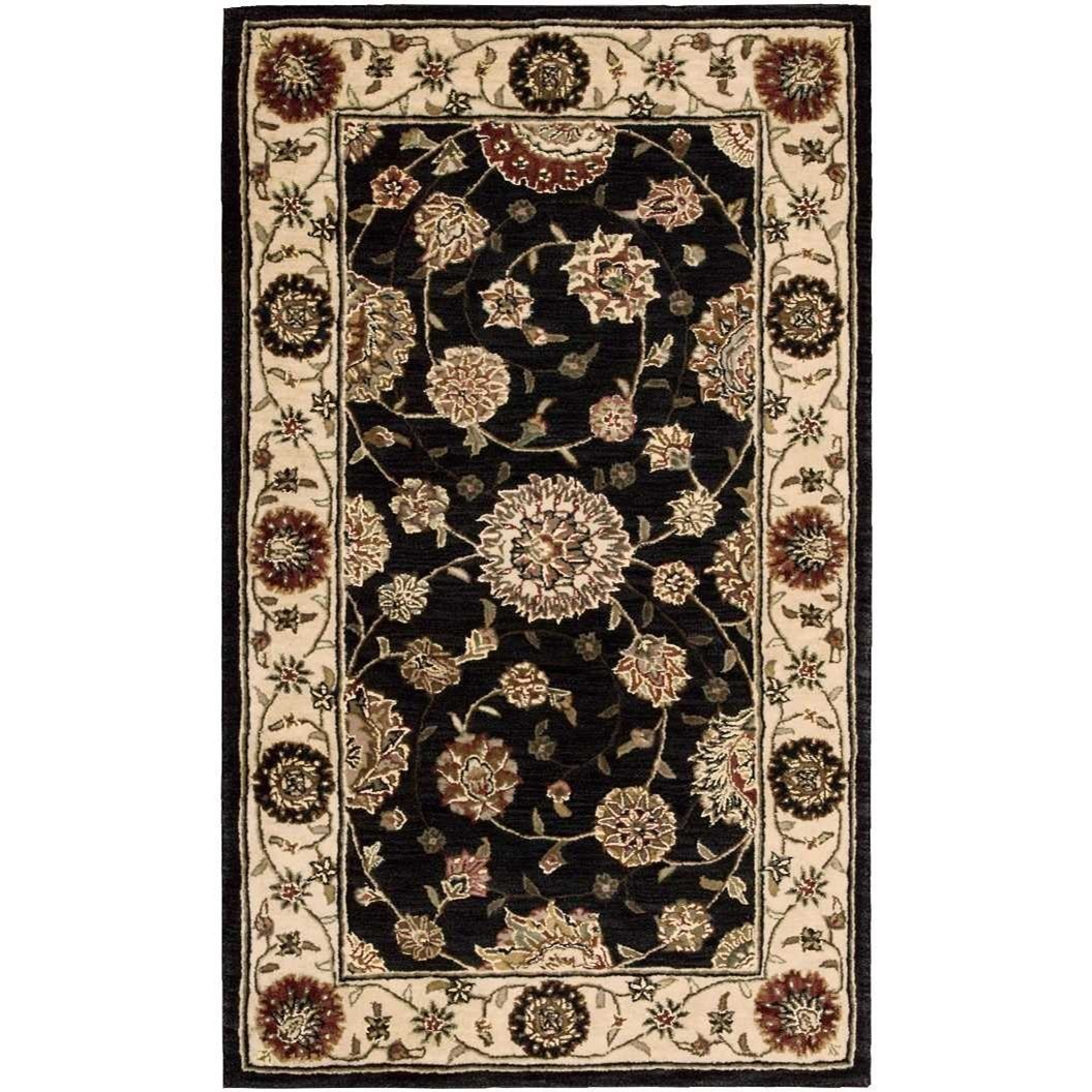 Nourison 2000 2000 2204 Navy Blue 3'x5'  Area Rug by Nourison at Home Collections Furniture