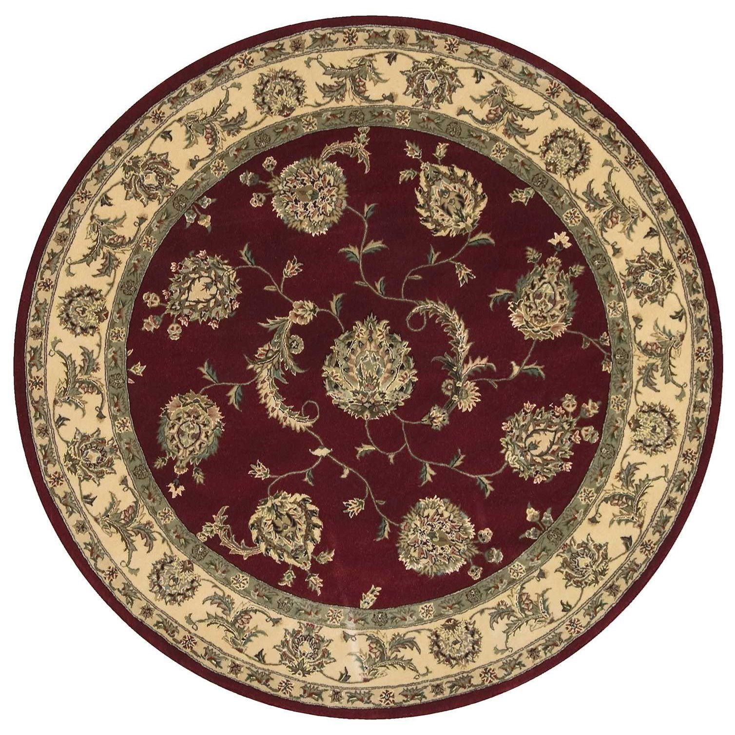 Nourison 2000 2000 2022 Lacquer 6' Round  Area Rug by Nourison at Home Collections Furniture