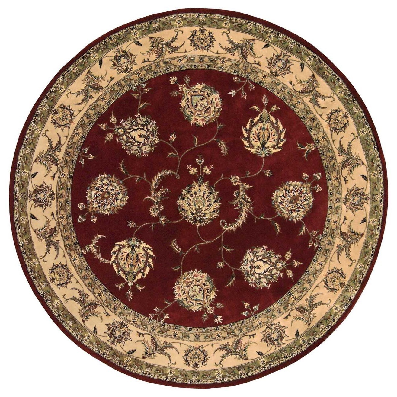 Nourison 2000 2000 2022 Lacquer 8' Round  Area Rug by Nourison at Sprintz Furniture