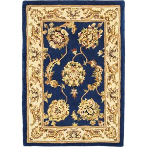 2000 2' x 3' Accent Size Navy  Area Rug