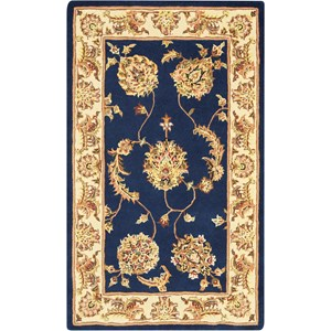 2000 3' x 4' Accent Size Navy  Area Rug