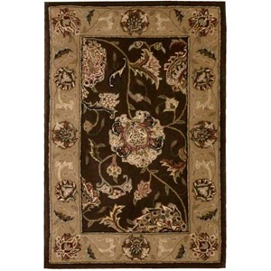 2000 2206 Brown 2'x3'  Area Rug