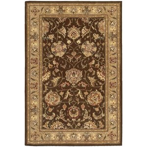 2000 2206 Brown 4'x6'  Area Rug