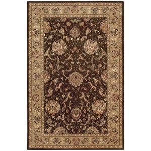 2000 2206 Brown 6'x9'  Area Rug