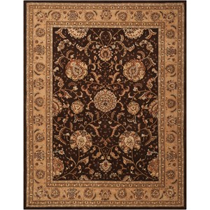 2000 2206 Brown 8'x10'  Area Rug